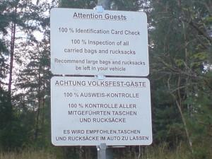 Informationen zur Ausweispflicht