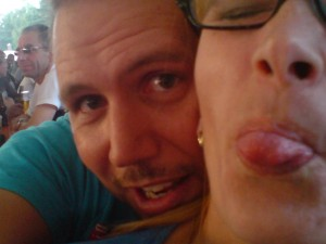 Anja und ich beim Ausklang