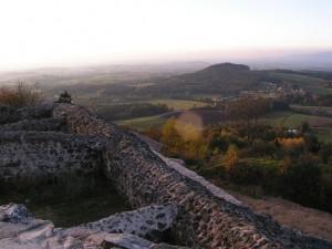 Burgruine Waldeck Aussicht