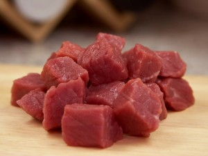 Schweinefleischwürfel