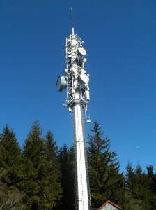 Funkmast im Bereich Erbendorf