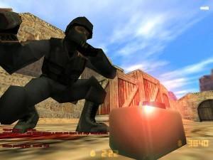 Entschärfen der Bombe in Counterstrike